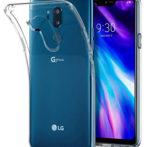 LG G7 ThinQ Genomskinligt Mjukt TPU Skal