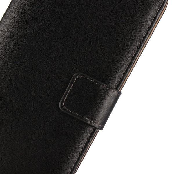 OnePlus 6 Läder Plånboksfodral - Svart