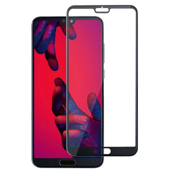 Huawei P20 Pro Heltäckande 3D Härdat Glas Skärmskydd 0,2mm