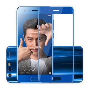 Huawei Honor 9 Blå Heltäckande Härdat Glas Skärmskydd 0,2mm