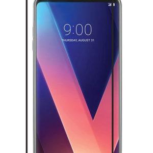 LG V30S ThinQ Heltäckande 3D Härdat Glas Skärmskydd 0,2mm