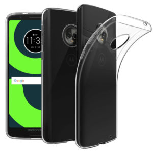 Motorola Moto G6 Plus Genomskinligt Mjukt TPU Skal
