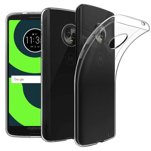 Motorola Moto G6 Genomskinligt Mjukt TPU Skal