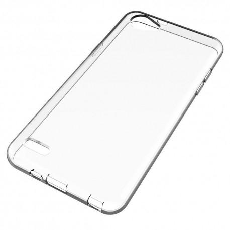 LG Q6 Genomskinligt Mjukt TPU Skal