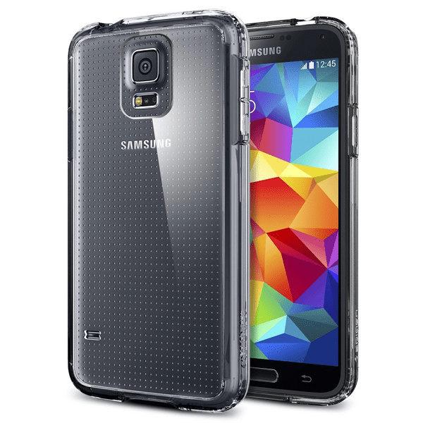 Samsung Galaxy S5 Genomskinlig Mjuk TPU Skal