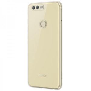 Huawei Honor 8 Genomskinlig TPU Skal + Härdat Glas Skärmskydd