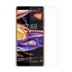 2-Pack Nokia 7 Plus Härdat Glas Skärmskydd 0,3mm