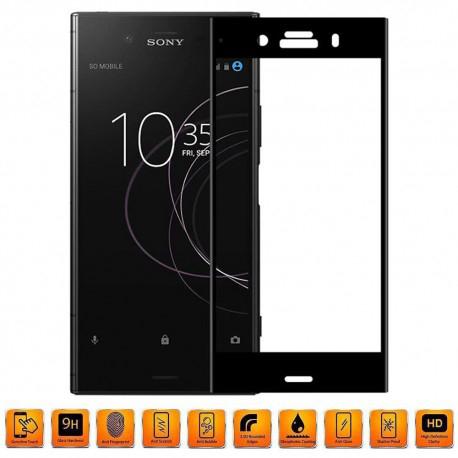 Sony Xperia XZ1 Heltäckande 3D Härdat Glas Skärmskydd 0,2mm