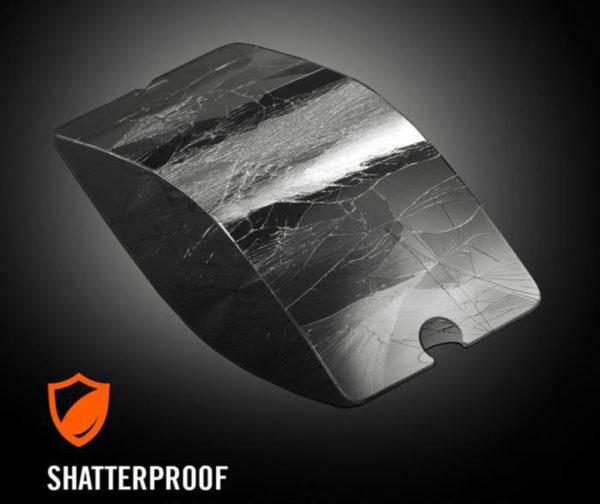 Heltäckande iPhone 6S Härdat Glas Skärmskydd 0,2mm - Svart