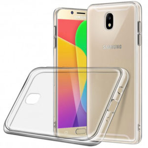 Samsung J3 2017 Transparent Mjuk TPU Skal