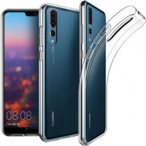 Huawei P20 Pro Transparent Mjuk TPU Skal