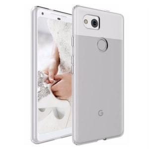Google Pixel 2 XL Transparent Mjuk TPU Skal