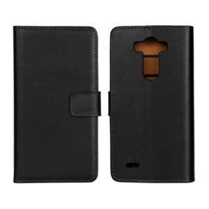 LG G5 Läder Plånboksfodral - Svart / Brun