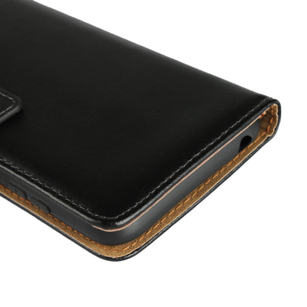 Huawei Honor 10 Läder Plånboksfodral - Svart