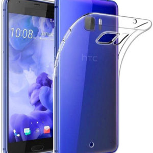 HTC U11 Transparent Mjuk TPU Skal