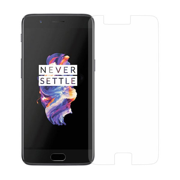 2-Pack OnePlus 5 Härdat Glas Skärmskydd 0,3mm