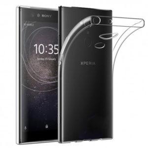 Sony Xperia XA2 Transparent Mjuk TPU Skal