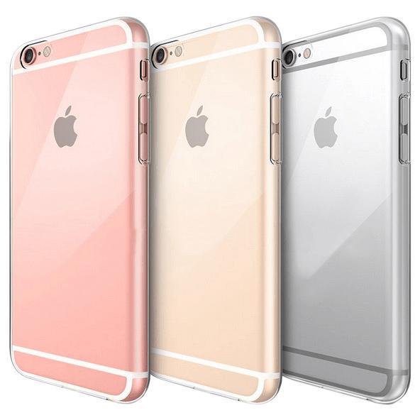 iPhone 6S Plus Genomskinligt Mjukt TPU Skal