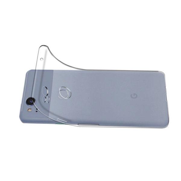 Google Pixel 2 Transparent Mjuk TPU Skal