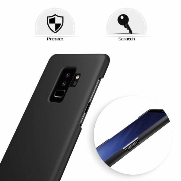 Samsung Galaxy S9 Plus Hard Case Skal Svart