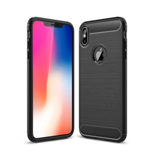 iPhone XS Max Anti Shock Carbon Stöttålig Skal