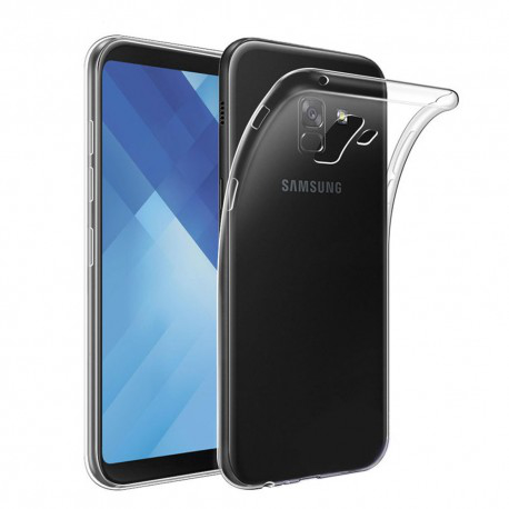 Samsung Galaxy A8 Plus 2018 Genomskinligt Mjukt TPU Skal