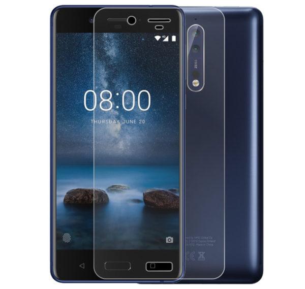 Nokia 8 Härdat Glas Skärmskydd 0,3mm