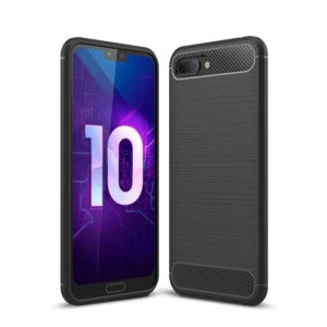 Huawei Honor 10 Anti Shock Carbon Stöttålig Skal