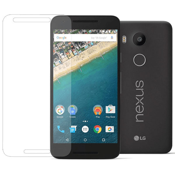 2-Pack LG Nexus 5X Härdat Glas Skärmskydd 0,3mm
