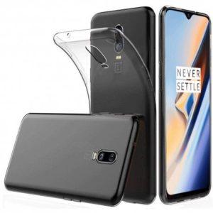 OnePlus 6T Transparent Mjuk TPU Skal