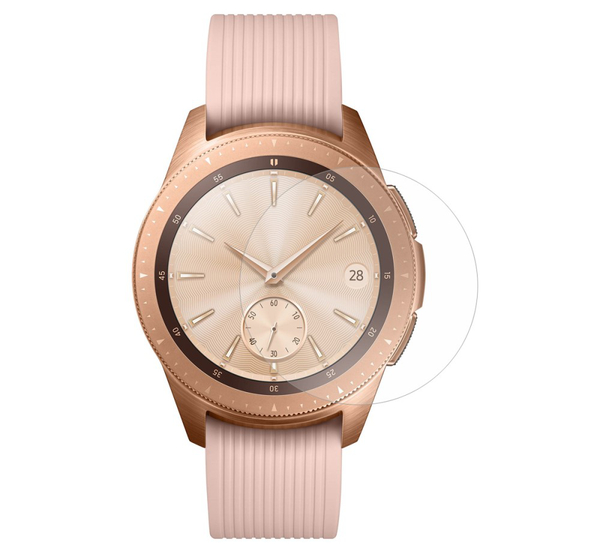 2-Pack Samsung Galaxy Watch 42mm Härdat Glas Skärmskydd