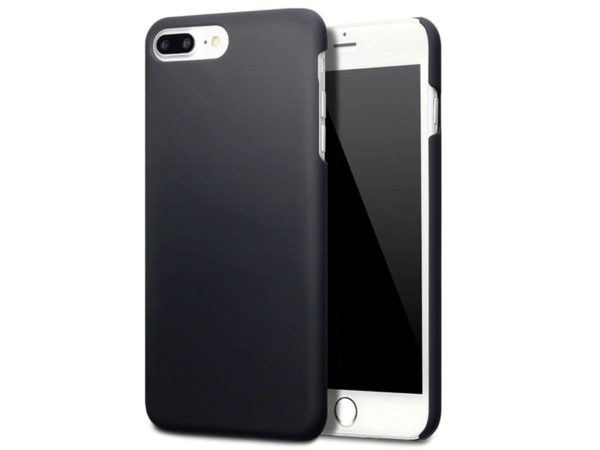iPhone 7 Plus Svart Hard Case Skal