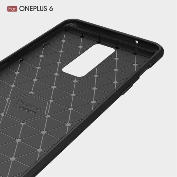 OnePlus 6 Anti Shock Carbon Stöttålig Skal