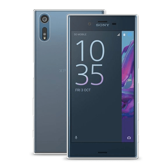 Sony Xperia XZ Transparent Mjuk TPU Skal