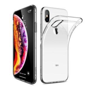 iPhone XS Max Genomskinligt Mjukt TPU Skal