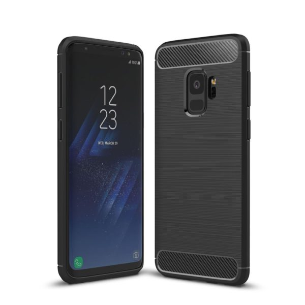 Samsung Galaxy S9 Anti Shock Carbon Stöttålig Skal