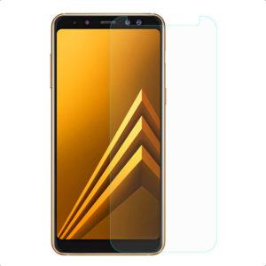 2-Pack Samsung Galaxy A8 2018 Härdat Glas Skärmskydd 0,3mm
