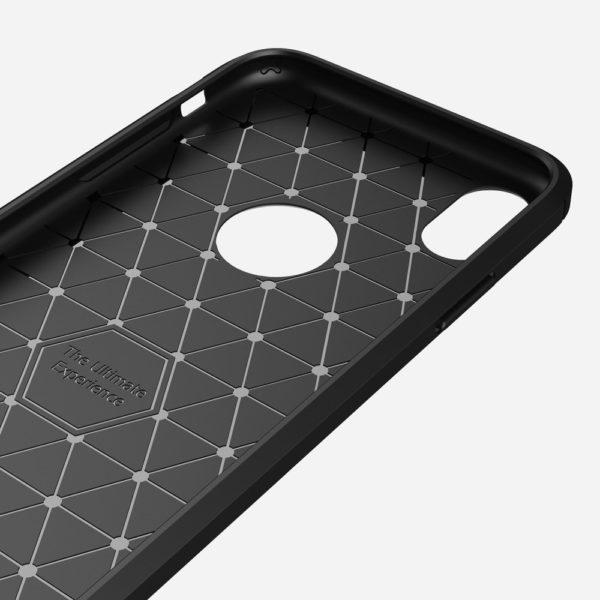 iPhone XR Anti Shock Carbon Stöttålig Skal