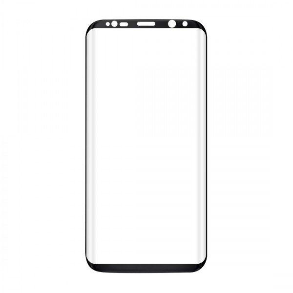 Samsung Galaxy S8+ 3D Härdat Glas Skärmskydd 0,2mm