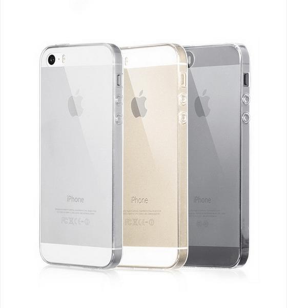 iPhone 5/5S/5SE Genomskinlig Mjuk TPU Skal