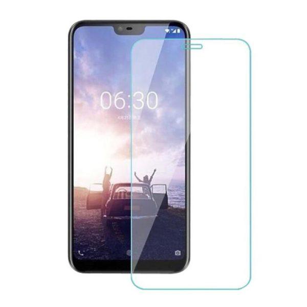 2-Pack Nokia 6.1 Plus Härdat Glas Skärmskydd 0,3mm