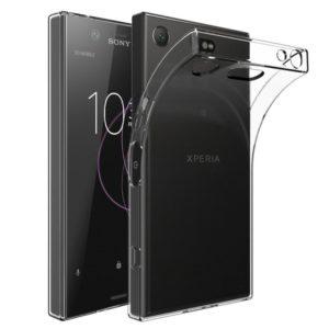 Sony Xperia XZ1 Compact Transparent Mjuk TPU Skal