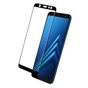 Samsung Galaxy A6+ 2018 Heltäckande Härdat Glas Skärmskydd