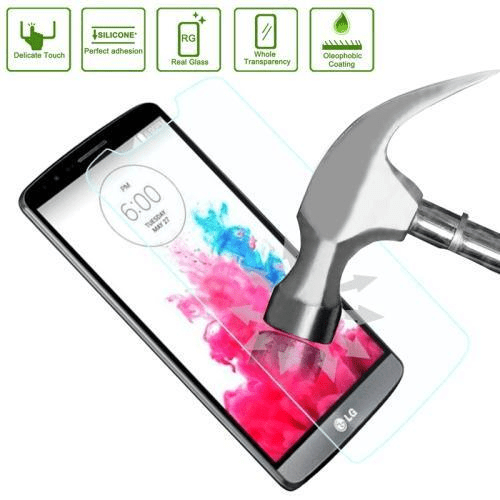 2-pack LG G3 Härdat Glas Skärmskydd 0,3mm