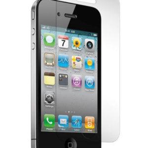 2-pack iPhone 4/4S Härdat Glas Skärmskydd 0,3mm