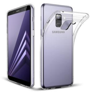 Samsung Galaxy A8 2018 Genomskinligt Mjukt TPU Skal