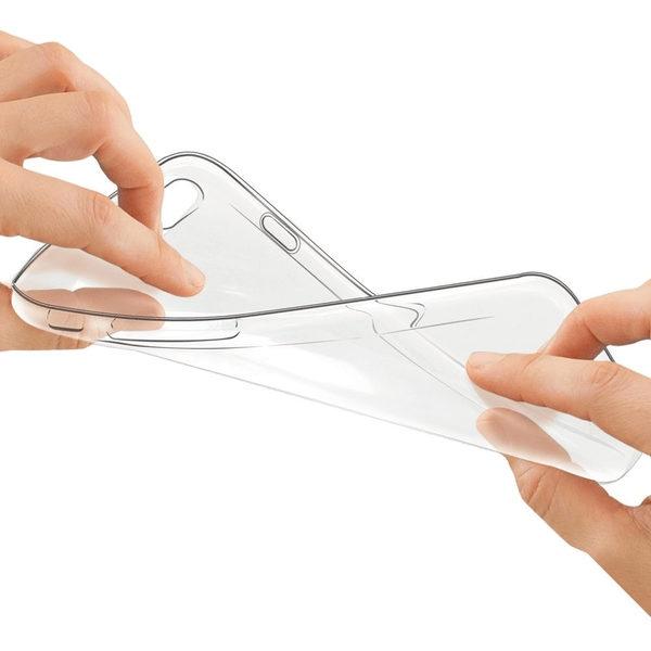 Sony Xperia XZ1 Transparent Mjuk TPU Skal