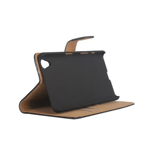 Sony Xperia X Läder Plånboksfodral - Svart / Brun