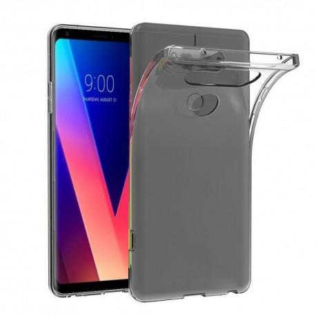 LG V30 Transparent Mjuk TPU Skal
