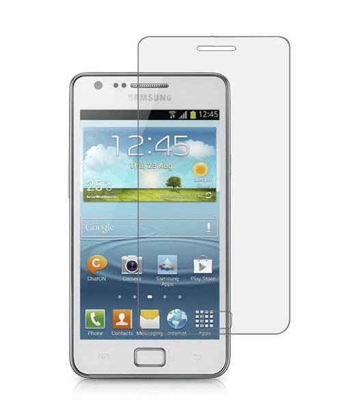 2-Pack Samsung Galaxy S2 Härdat Glas Skärmskydd 0,3mm